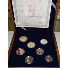 Sada oběžných mincí 2017