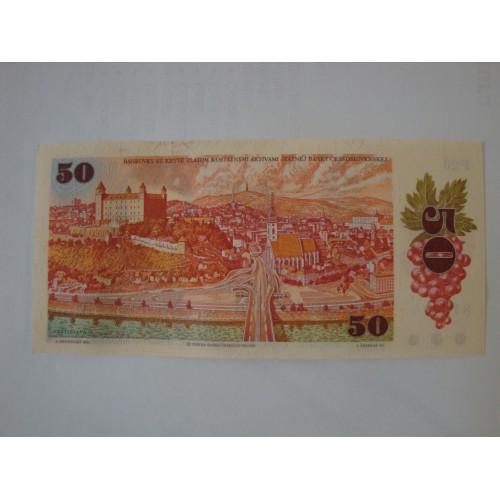 50 Kčs 1987