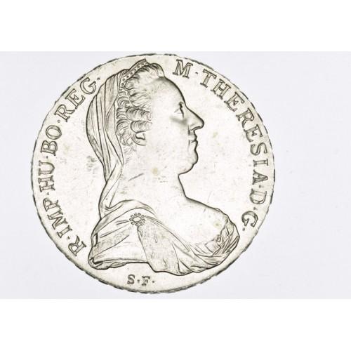 Stříbrná mince Tolar 1780 SF