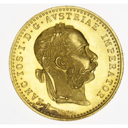 Zlatá mince dukát 1915 FJI
