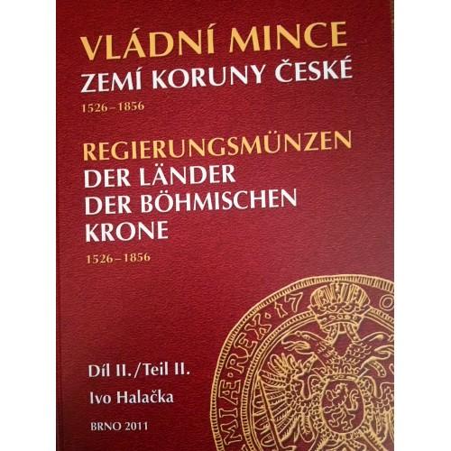 Vládní mince zemí koruny české I.a II. díl