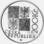 Pamětní stříbrná mince 200 Kč 2001 Dietzenhofer