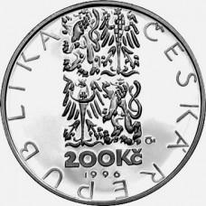 Stříbrná pamětní mince 200 Kč Deburau