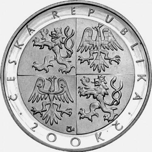 Stříbrná pamětní mince 200 Kč vánoční mše