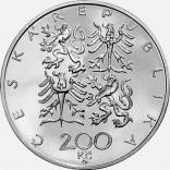 Pamětní stříbrná mince 200 Kč 1997