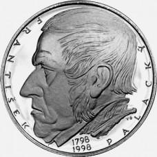 Pamětní stříbrná mince 200 Kč Palacký