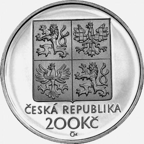 Pamětní stříbrná mince 200 Kč Kmoch