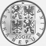Stříbrná pamětní mince 200 Kč Přemysl Otakar I.
