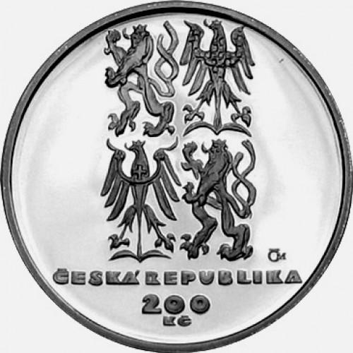 Pamětní stříbrná mince 200 Kč NATO