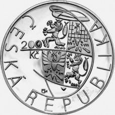 Stříbrná pamětní mince 200 Kč AVU