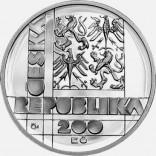 Stříbrná pamětní mince 200 Kč VUT