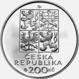 Stříbrná pamětní mince 200 Kč Sekora