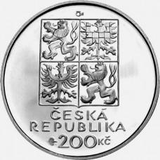 Pamětní stříbrná mince 200 Kč Sekora
