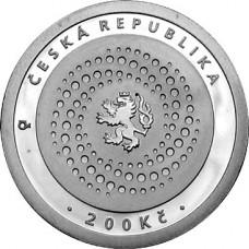 Pamětní stříbrná mince 200 Kč měnový fond