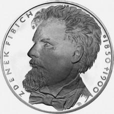 Pamětní stříbrná mince 200 Kč Fibich