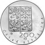 Stříbrná pamětní mince 200 Kč katedrála sv. Víta