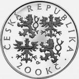 Stříbrná pamětní mince 200 Kč Seifert