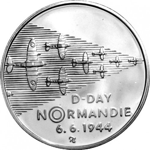 Pamětní mince 200 Kč 1994 Normandie