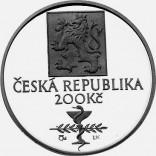 Stříbrná pamětní mince 200 Kč Thomayer