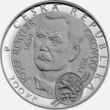 Stříbrná pamětní mince 200 Kč lyžování