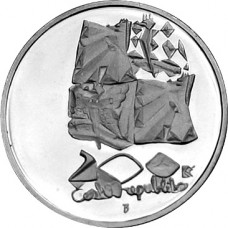Stříbrná pamětní mince 200 Kč vítězství