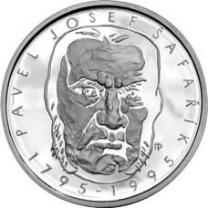 Stříbrná pamětní mince 200 Kč Šafařík