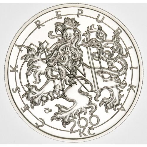 Stříbrná pamětní mince 200 Kč ČNB