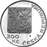 Stříbrná pamětní mince 200 Kč OSN