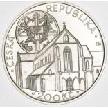 Stříbrná pamětní mince 200 Kč Zlatá koruna
