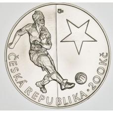 Stříbrná pamětní mince 200 Kč Bican