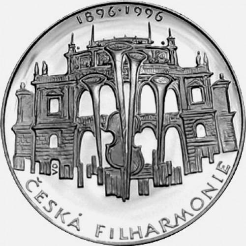 Stříbrná pamětní mince 200 Kč Filharmonie