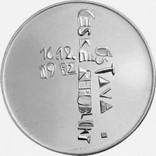 Stříbrná pamětní mince 200 Kč Ústava ČR