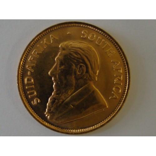 Zlatá investiční mince 1/2 krugerrand
