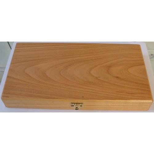 Dřevěná etue na 10 mincí